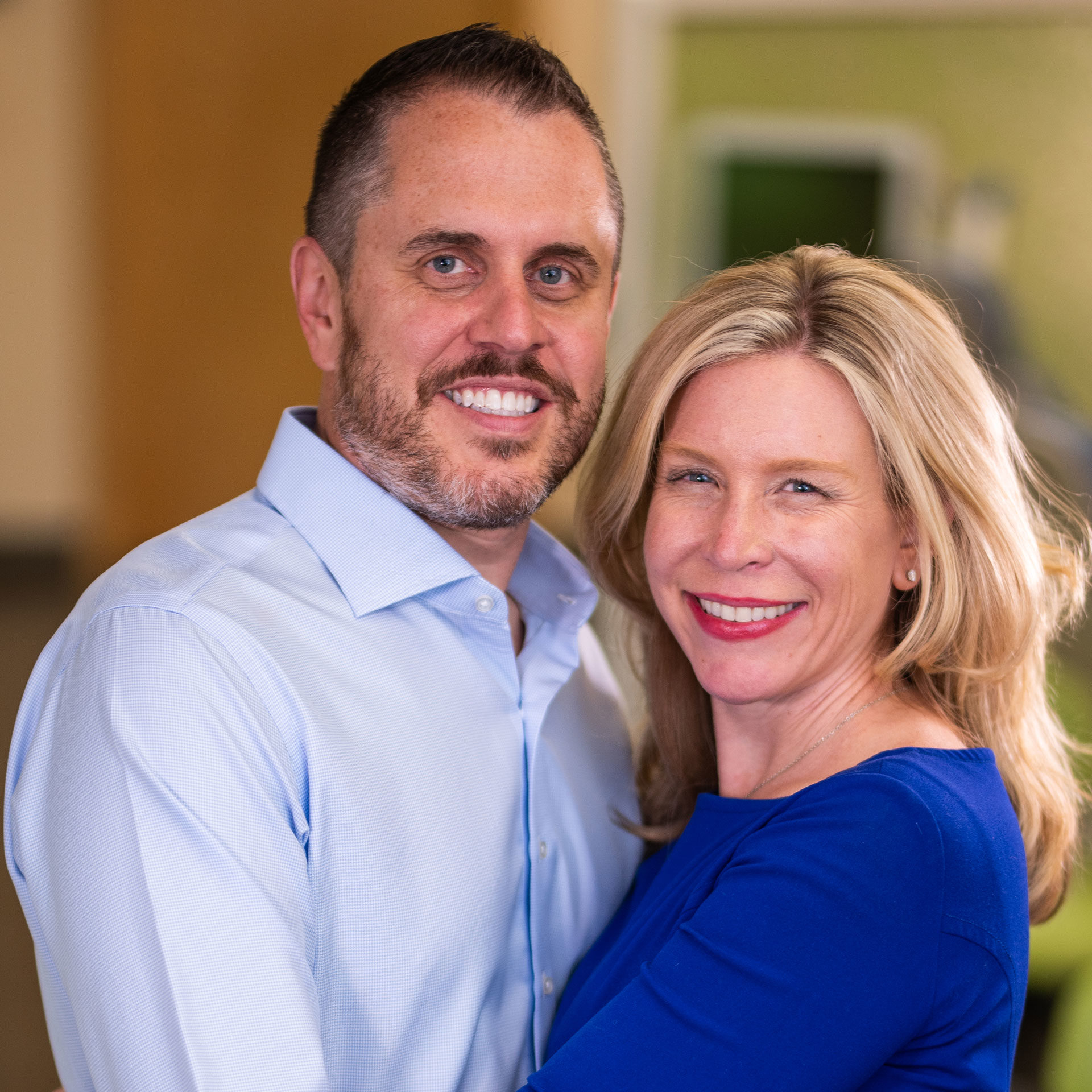 Dr. Matthew Dunn and Dr. Courtney Dunn